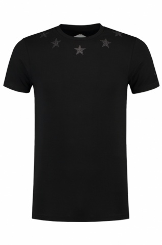 yessir-merchandise-ronnie-flex-nasr-de-barber-exclusive-custom-glitter-shirt-jouw-naam-en-nummer-black-on-black-amsterdam-rotterdam-topnotch